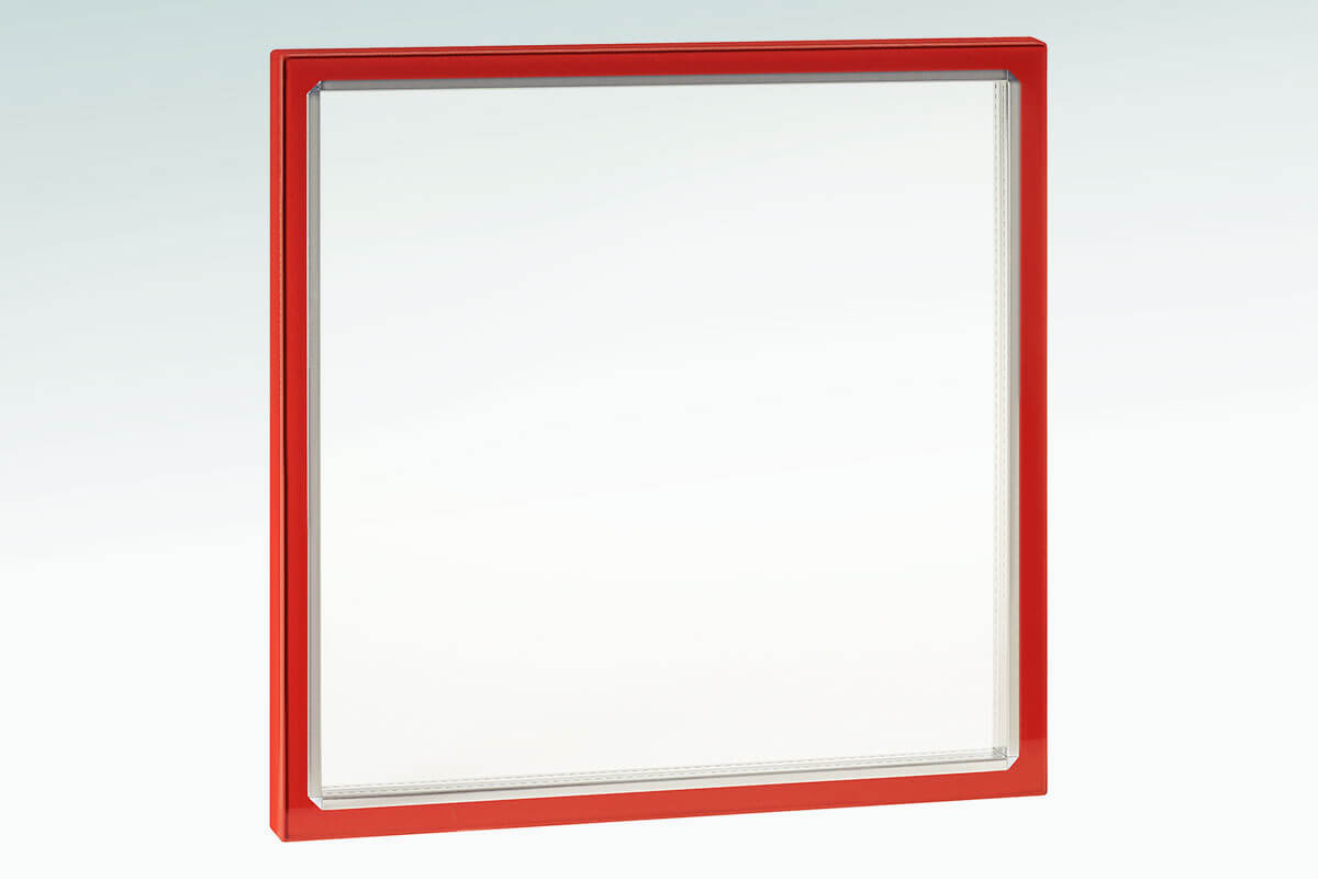 2-panes construction made of high-quality safety glass